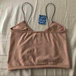 Free People Intimates & Sleepwear - Free People Brami Pale Pink Bra Top